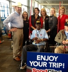 Honor Flight Network Fliees Veterans to See Memorials