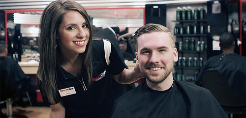 Sport Clips Haircuts of Gulfport​ stylist hair cut